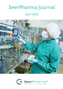 SeerPharma Journal 2020 April Cover