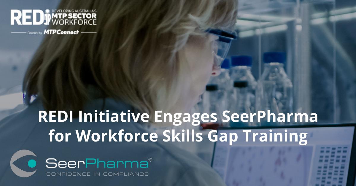 REDI Initiative Engages SeerPharma for Workforce Skills Gap Training
