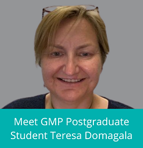 Meet GMP Postgraduate Student Teresa Domagala