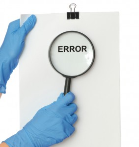 Focusing on minimising human error